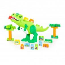 """Детский игровой  набор """"Динозавр"""" + конструктор (30 элементов) (в коробке) арт. 67807  Полесье"""