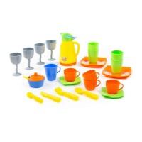 """Детский набор игрушечной посуды """"Праздничный"""" (в коробке) арт. 40800 Полесье"""