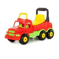 """Детская игрушка Каталка-автомобиль """"Буран"""" №1 (красная) арт. 43634 Полесье"""