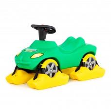 """Детская игрушка Снегоход каталка-автомобиль """"Полиция"""" со звуковым сигналом арт. 44587 Полесье"""