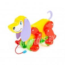 """Детская игрушка собака-каталка """"Боби"""" арт. 5434 Полесье"""