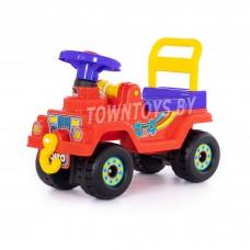 Детская игрушка машинка-каталка Джип 4х4 (красный) арт. 62796 ПОЛЕСЬЕ