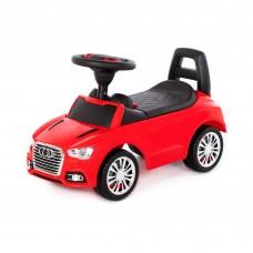 """Детская игрушка Каталка-автомобиль """"SuperCar"""" №2 со звуковым сигналом (красная) арт. 84545 Полесье"""