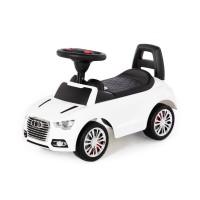 """Детская машинка-каталка """"SuperCar"""" №2 со звуковым сигналом (белая) арт. 84552 Полесье"""
