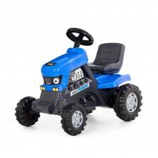 """Детская игрушка каталка-трактор с педалями """"Turbo"""" арт. 84620 ПОЛЕСЬЕ (синяя)"""