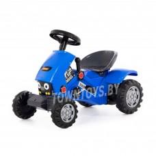 """Детская игрушка каталка-трактор с педалями """"""""Turbo-2"""" арт. 84644 ПОЛЕСЬЕ (синяя)"""