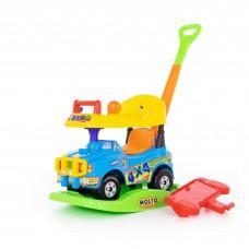 """Детская игрушка Автомобиль Джип-каталка """"Викинг"""" многофункциональный (голубой) арт. 62963 Полесье"""