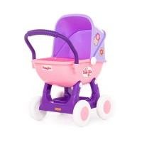 """Детская игрушка коляска для кукол """"Arina"""" 4-х колёсная (в пакете) арт. 48202 Полесье в Минске"""