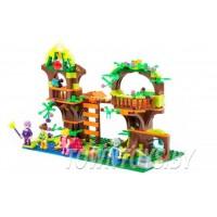 """Детский конструктор """"Классик"""" """"Сказочный мир-1"""" (444 элемента) (в коробке) арт. 82039 аналог LEGO (ЛЕГО)"""