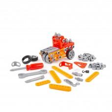 """Детская игрушка конструктор """"Изобретатель"""" (160 элементов) (в коробке) арт. 86679 Полесье"""
