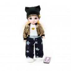 """Интерактивная кукла """"Арина"""" (37 см) на прогулке арт. 79633 Полесье (в коробке)"""