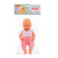 """Детская игрушка Пупс """"Обаятельный"""" (34 см) девочка, издаёт звук (в пакете) арт. 71729 Полесье"""