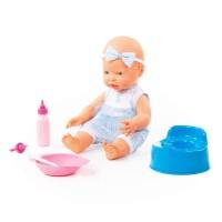 """Детская игрушка Пупс """"Весёлый"""" (35 см) с соской + аксессуары (4 элемента) (в коробке) арт. 78384 Полесье"""