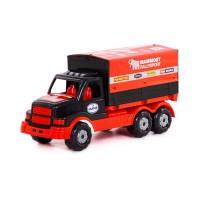 """Детская игрушка грузовик с тентом """"MAMMOET"""" арт. 65308 Полесье"""