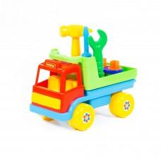 """Детская игрушка  автомобиль-конструктор """"Техпомощь"""" (в сеточке) арт. 6387 Полесье"""