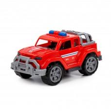 """Детская игрушка Автомобиль """"Легионер-мини"""" пожарный  (в сеточке) арт. 84712 Полесье"""