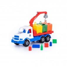 """Детская игрушка автомобиль-контейнеровоз """"Сталкер"""" арт. 90379 Полесье"""
