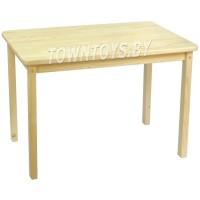 Деревянный столик  БОЛЬШОЙ (50Х80см) из массива для детей со скругленными углами арт. SDNY-805052