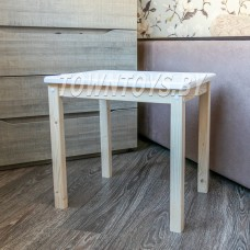 """Детский столик из массива """"Компакт-3"""" с окрашенной столешницей арт. SDNW-504052."""
