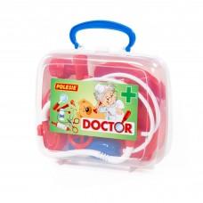Детский игрушечный набор доктора №3 (в чемоданчике) арт. 56559 Полесье