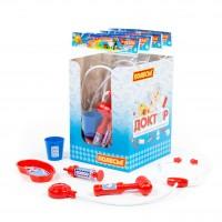 """Детская игрушка Набор доктор  """"№14"""" (5 элементов) (в пакете) арт. 70562 Полесье"""