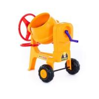 """Детская игрушка Бетономешалка №1 """"Construct"""" (в коробке) большая арт.38937 Полесье."""