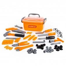 Детский набор инструментов для мальчиков  №15 (57 элементов) (в контейнере) арт. 59307. Полесье.