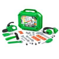Детский игровой набор инструментов для мальчиков №17 (26 элементов) (в чемоданчике) арт. 89434 Полесье