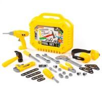 Детский игровой набор инструментов для мальчиков №20 (32 элемента) (в чемоданчике) арт. 89465 Полесье