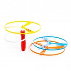 Игрушка для детей  улётные вертушки (3 шт) с пусковым устройством арт. 37015 ПОЛЕСЬЕ