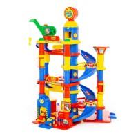 Детская игрушка для мальчиков паркинг 7-уровневый с 2 автомобилями (в коробке) арт. 37848 ПОЛЕСЬЕ в Минске
