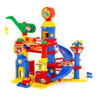 Детская игрушка для мальчиков паркинг 4-уровневый с автомобилями (в коробке) арт. 37855 ПОЛЕСЬЕ в Минске