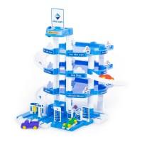 """Детская игрушка для мальчиков конструктор паркинг """"ARAL"""" 4-уровневый (в коробке) арт. 37879 Полесье в Минске"""
