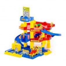 Игрушка паркинг для мальчиков 3-уровневый с автомобилями арт. 37893 (в коробке) ПОЛЕСЬЕ в Минске