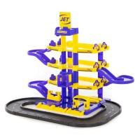 """Детская игрушка для мальчиков Паркинг """"JET"""" 4-уровневый с дорогой (в коробке) арт. 40220 ПОЛЕСЬЕ в Минске"""
