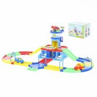 """Детская игрушка Полесье  аэропорт """"Play City"""" с дорогой арт. 40404 Автотрек  (в коробке)"""