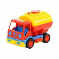 """Детская игрушка """"Базик"""", автомобиль-бензовоз (в сеточке) арт. 0315 Полесье"""