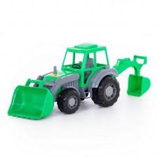 """Детская игрушка """"Алтай"""", трактор-экскаватор, 35394, Полесье"""
