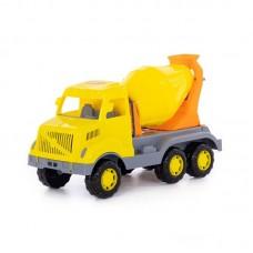 """Детская игрушка """"Богатырь"""", автомобиль-бетоновоз, 37350, Полесье"""
