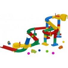 Детская игрушка Горка для шариков, набор №2 (в пакете), 38265, Полесье