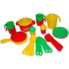 """Детская игрушка Набор детской посуды """"Настенька"""" на 4 персоны, 3926, Полесье"""