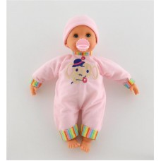 """Детская игрушка Кукла """"Пупс"""": озвученная, сосёт соску, 39322, Полесье"""