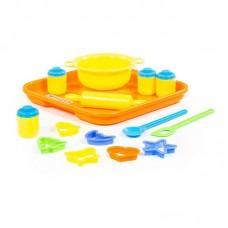 Детская игрушка Набор детской посуды для выпечки №1 с подносом, 40749, Полесье