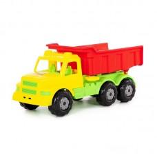 """Детская игрушка """"Буран"""" №1, автомобиль-самосвал (жёлто-красный), 43627, Полесье"""
