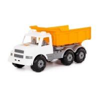 """Детская игрушка """"Буран"""", автомобиль дорожный (бело-оранжевый) арт. 43689 Полесье"""