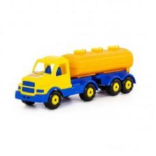 """Детская игрушка """"Сталкер"""", автомобиль с полуприцепом-цистерной, 44334, Полесье"""
