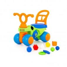 """Детская игрушка Каталка """"Крокодильчик"""" арт. 46154 Полесье"""