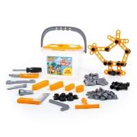 Детская игрушка Набор инструментов №2 (129 элементов) (в ведёрке) арт. 47168 Полесье