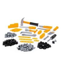 Детская игрушка Набор инструментов №6 (132 элемента) (в пакете) арт. 47205 Полесье