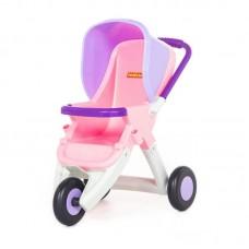 Детская игрушка Коляска для кукол прогулочная 3-х колёсная (в пакете) арт. 48127 Полесье